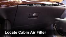 2014 Toyota Avalon Hybrid XLE 2.5L 4 Cyl. Air Filter (Cabin)