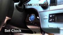2014 Toyota Avalon Hybrid XLE 2.5L 4 Cyl. Clock