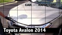 2014 Toyota Avalon Hybrid XLE 2.5L 4 Cyl. Review