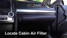 2014 Toyota Camry SE 3.5L V6 Filtro de aire (interior)