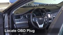 2014 Toyota Camry SE 3.5L V6 Compruebe la luz del motor