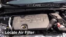 2014 Toyota Corolla S 1.8L 4 Cyl. Filtro de aire (motor)