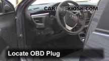 2014 Toyota Corolla S 1.8L 4 Cyl. Check Engine Light