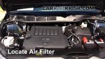 2014 Toyota Venza LE 3.5L V6 Filtro de aire (motor)