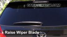 2014 Toyota Venza LE 3.5L V6 Escobillas de limpiaparabrisas trasero