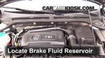 2014 Volkswagen Jetta SE 1.8L 4 Cyl. Turbo Sedan (4 Door) Brake Fluid