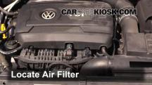 2014 Volkswagen Passat SEL Premium 1.8L 4 Cyl. Sedan (4 Door) Air Filter (Engine)