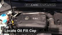 2014 Volkswagen Passat SEL Premium 1.8L 4 Cyl. Sedan (4 Door) Oil
