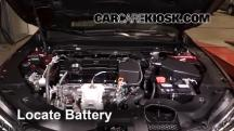 2015 Acura TLX 2.4L 4 Cyl. Battery