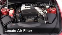2015 Cadillac CTS 2.0L 4 Cyl. Turbo Air Filter (Engine)