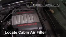 2015 Chevrolet Corvette Stingray 6.2L V8 Convertible Air Filter (Cabin)