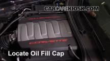 2015 Chevrolet Corvette Stingray 6.2L V8 Convertible Aceite