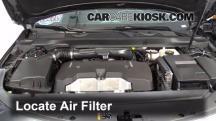 2015 Chevrolet Impala LT 2.5L 4 Cyl. Filtro de aire (motor)
