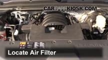2015 Chevrolet Suburban LT 5.3L V8 FlexFuel Air Filter (Engine)