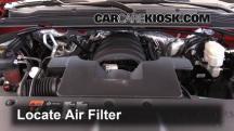 2015 Chevrolet Tahoe LT 5.3L V8 FlexFuel Filtro de aire (motor)