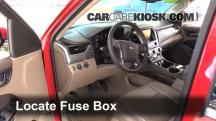 2015 Chevrolet Tahoe LT 5.3L V8 FlexFuel Fusible (interior)