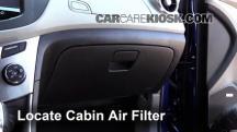 2015 Chevrolet Trax LTZ 1.4L 4 Cyl. Turbo Filtro de aire (interior)