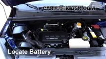 2015 Chevrolet Trax LTZ 1.4L 4 Cyl. Turbo Batería
