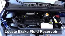 2015 Chevrolet Trax LTZ 1.4L 4 Cyl. Turbo Líquido de frenos