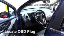 2015 Chevrolet Trax LTZ 1.4L 4 Cyl. Turbo Compruebe la luz del motor