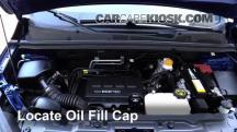 2015 Chevrolet Trax LTZ 1.4L 4 Cyl. Turbo Oil