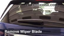 2015 Chevrolet Trax LTZ 1.4L 4 Cyl. Turbo Escobillas de limpiaparabrisas trasero