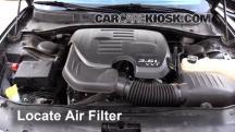 2015 Dodge Charger SE 3.6L V6 FlexFuel Air Filter (Engine)