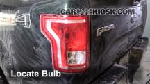 2015 Ford F-150 XLT 3.5L V6 Turbo Crew Cab Pickup Luces