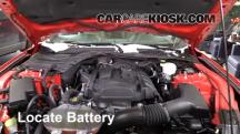 2015 Ford Mustang EcoBoost 2.3L 4 Cyl. Turbo Battery
