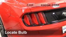 2015 Ford Mustang EcoBoost 2.3L 4 Cyl. Turbo Lights