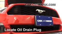 2015 Ford Mustang EcoBoost 2.3L 4 Cyl. Turbo Oil