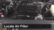 2015 GMC Sierra 2500 HD 6.0L V8 FlexFuel Extended Cab Pickup Air Filter (Engine)