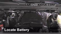 2015 GMC Sierra 2500 HD 6.0L V8 FlexFuel Extended Cab Pickup Battery