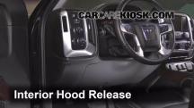 2015 GMC Sierra 2500 HD 6.0L V8 FlexFuel Extended Cab Pickup Capó