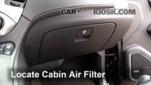 2015 GMC Yukon XL SLT 5.3L V8 FlexFuel Filtro de aire (interior)