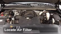 2015 GMC Yukon XL SLT 5.3L V8 FlexFuel Filtro de aire (motor)