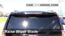 2015 GMC Yukon XL SLT 5.3L V8 FlexFuel Escobillas de limpiaparabrisas trasero