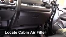 2015 Honda Fit EX 1.5L 4 Cyl. Filtro de aire (interior)