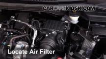 2015 Honda Fit EX 1.5L 4 Cyl. Filtro de aire (motor)