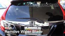 2015 Honda Fit EX 1.5L 4 Cyl. Escobillas de limpiaparabrisas trasero