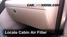 2015 Hyundai Sonata SE 2.4L 4 Cyl. Filtro de aire (interior)