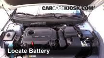 2015 Hyundai Sonata SE 2.4L 4 Cyl. Batería