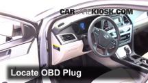 2015 Hyundai Sonata SE 2.4L 4 Cyl. Compruebe la luz del motor