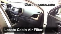 2015 Jeep Cherokee Latitude 2.4L 4 Cyl. Air Filter (Cabin)