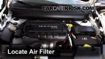 2015 Jeep Cherokee Latitude 2.4L 4 Cyl. Air Filter (Engine)