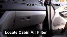 2015 Kia Sedona LX 3.3L V6 Filtro de aire (interior)
