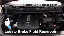 2015 Kia Sedona LX 3.3L V6 Líquido de frenos