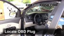 2015 Kia Sedona LX 3.3L V6 Compruebe la luz del motor