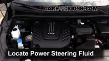 2015 Kia Sedona LX 3.3L V6 Líquido de dirección asistida