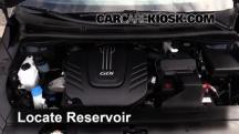 2015 Kia Sedona LX 3.3L V6 Líquido limpiaparabrisas
